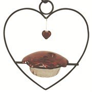 Birds Choice Hummingbird Heart Feeder