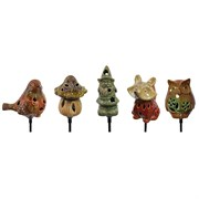 Moonrays 16pc Garden Ceramic Stake Lights Dsp