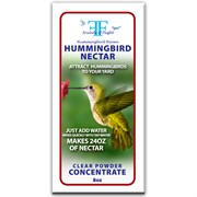 FOF 8oz Hummingbird Clear Nectar PowderSugar