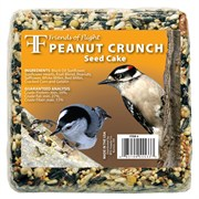 Friends of Flight 7oz Peanut Crunch Petite Seed Cake