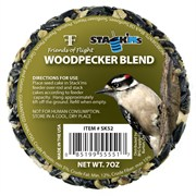 Friends of Flight 7oz Woodpecker Stack'm Seed Cake