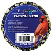 Friends of Flight 7oz Cardinal Stack'm Seed Cake