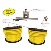 Dramm Colorstorm Custom Hose Kit .75in Yellow  (1/CS)