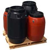 Epoch 4pc 55gal Rain Barrel TC/Blk PL