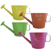 GS 7.50 Watering Can Planter Assted 12/Cs