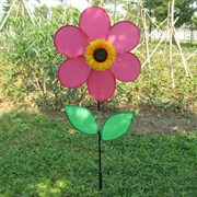 Gardener Select Fuschia Pinwheel with Flower & Leaves 11in x 16in