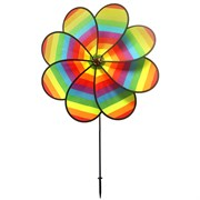 Gardener Select 40x61 Large Rainbow Flower Pinwheel