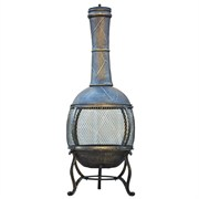Gardener Select Cast Iron Chiminea Brown