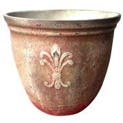 "Gardener Select 15"" Brown Rofia Planter"