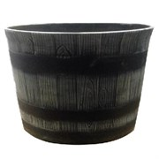 "Gardener Select 14"" Whiskey Barrel Round Planter"