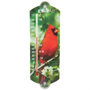 "Headwind 10"" In/Out Thermometer W/ Cardinal"