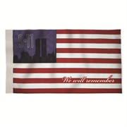 Heath 2.5x4 911 Commemor Banner Flag Deluxe
