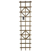 "Heritage Wood 18""x72"" Diamond Ladder Trellis"
