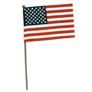 "FlagZone 4""x6"" US Hand Flag No Sew"