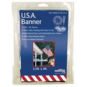 FlagZone 2.5'x4' Nylon S Embroidered US Banner