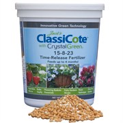 Jack's Classic ClassiCote with CrystalGreen 1.5lb 15-8-23 Time-Release Fertilizer