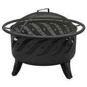 Landmann Patio Lights Firewave Black Sandpaint