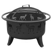 Landmann Patio Lights Deer Black Sandpaint