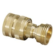 Nelson Brass Quick Connect Set 1 Ea M&F
