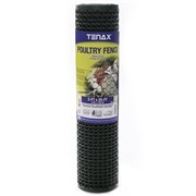 Tenax 2ft x 25ft Green Plastic Poultry Fence