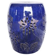 "MCarr 19"" Butterfly Stool Light Blue"