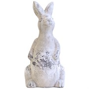 MCarr Face Forward Rabbit Standing Up Antique White