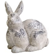 MCarr Face Forward XL Rabbit Antique White
