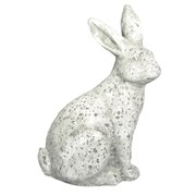 "MCarr 14.2"" Tall Rabbit Facing Right White"