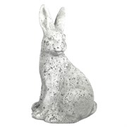 "MCarr 14.2"" Tall Rabbit Facing Left White"