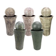 MCarr 5PC Liconfiber Fountain Plt Mix Colors