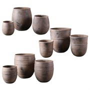MCarr 36PC Tall Pltr Mix Plt Rustic Brick