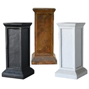MCarr 6PC Tall Pedestal Plt Mixed Colors