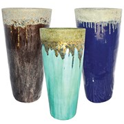MCarr 15pc Volcanic Tall Planter Pallet Mixed Colors