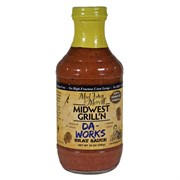 Mad Dog & Merrill 16oz Da Works Prem Brat Sauce