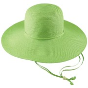 Midwest Green Straw Hat