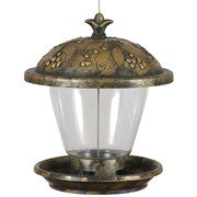 Perky Pet Holly Berry Gilded Chalet Feeder