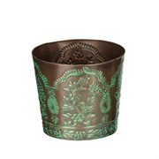 "Regal Art Tapered Planter 8"" Paisley"