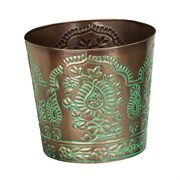 "Regal Art Tapered Planter 10"" Paisley"