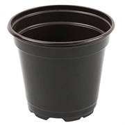 Grower Select 4.33In Round Co-Extruded Standard Pot - Black - 1850 Per Case