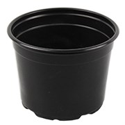 Grower Select 5in CoEx Round Standard Pot Black 1120/CS