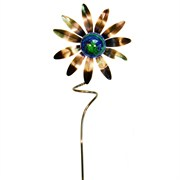 E-V Illuminarie Sunflower Stake KD