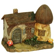 E-V Solar Farmhouse Fairy Gnome Home