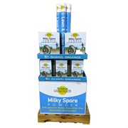 St Gabriel 16pc Milky Spore 8-4-4 Qtr Pallet Display
