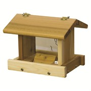 Stovall Wood 3#-4# Small Hanging Hopper Feeder