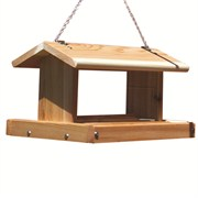 Stovall Wood 8-10lb Standard Hanging Feeder
