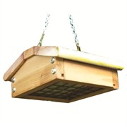 Stovall Wood Single Cake Upside Down Feeder