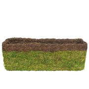 SuperMoss 24in Woven/Rim Moss Window Basket