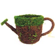 SuperMoss Deco Basket Watering Can Medium