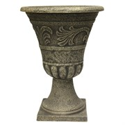 Southern Patio Enviroblend Tumbledd Scroll Urn 16in  - Stone