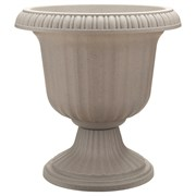 Southern Patio 19in Utopian Urn - Stone